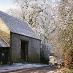 Donnington Barns in Hoar frost - Dec 2010