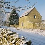 Granary in frost