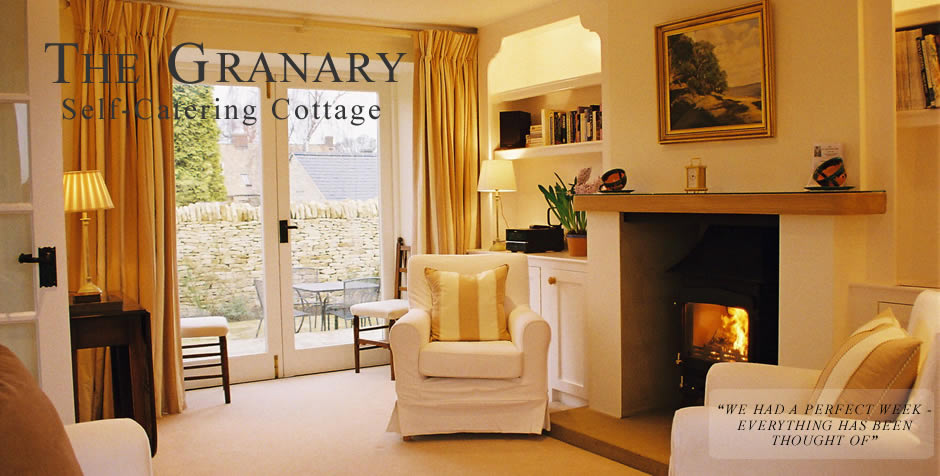 The Granary Self-Catering Cottage in The Cotswolds near Stow-on-the-Wold