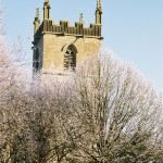 Stow church in frost - Dec 2010